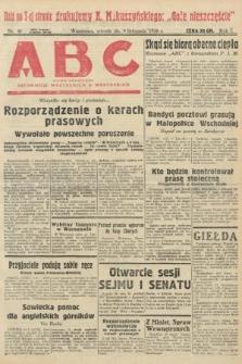 ABC : pismo codzienne : informuje wszystkich o wszystkiem. 1926, nr46