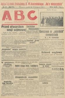 ABC : pismo codzienne : informuje wszystkich o wszystkiem. 1926, nr49