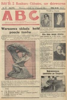 ABC : pismo codzienne : informuje wszystkich o wszystkiem. 1926, nr51