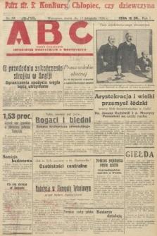 ABC : pismo codzienne : informuje wszystkich o wszystkiem. 1926, nr54