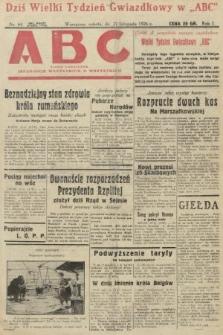 ABC : pismo codzienne : informuje wszystkich o wszystkiem. 1926, nr64