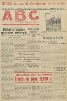 ABC : pismo codzienne : informuje wszystkich o wszystkiem. 1926, nr66