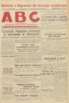 ABC : pismo codzienne : informuje wszystkich o wszystkiem. 1926, nr81