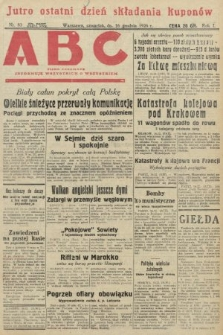 ABC : pismo codzienne : informuje wszystkich o wszystkiem. 1926, nr83