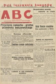 ABC : pismo codzienne : informuje wszystkich o wszystkiem. 1926, nr85