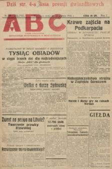 ABC : pismo codzienne : informuje wszystkich o wszystkiem. 1926, nr89