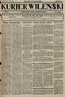 Kurjer Wileński : niezależny organ demokratyczny. 1929, nr6