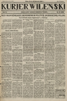 Kurjer Wileński : niezależny organ demokratyczny. 1929, nr13