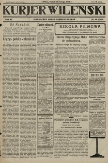 Kurjer Wileński : niezależny organ demokratyczny. 1929, nr44