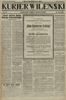 Kurjer Wileński : niezależny organ demokratyczny. 1929, nr143