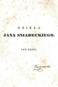 Dzieła Jana Sniadeckiego. T. 2