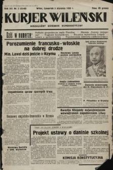 Kurjer Wileński : niezależny dziennik demokratyczny. 1935, nr2