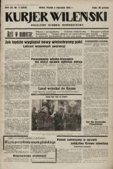 Kurjer Wileński : niezależny dziennik demokratyczny. 1935, nr3