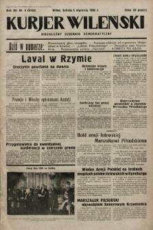 Kurjer Wileński : niezależny dziennik demokratyczny. 1935, nr4