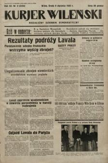 Kurjer Wileński : niezależny dziennik demokratyczny. 1935, nr8