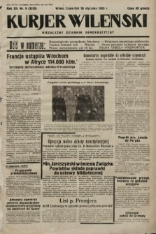 Kurjer Wileński : niezależny dziennik demokratyczny. 1935, nr9