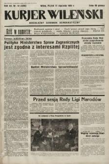 Kurjer Wileński : niezależny dziennik demokratyczny. 1935, nr10