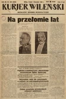 Kurjer Wileński : niezależny dziennik demokratyczny. 1936, nr1