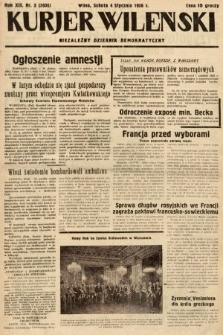 Kurjer Wileński : niezależny dziennik demokratyczny. 1936, nr3