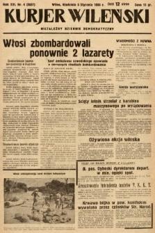 Kurjer Wileński : niezależny dziennik demokratyczny. 1936, nr4
