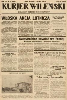Kurjer Wileński : niezależny dziennik demokratyczny. 1936, nr6