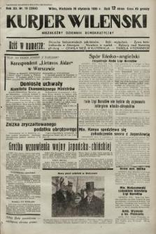 Kurjer Wileński : niezależny dziennik demokratyczny. 1935, nr19