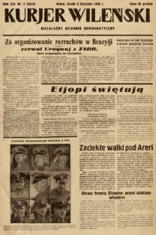 Kurjer Wileński : niezależny dziennik demokratyczny. 1936, nr7