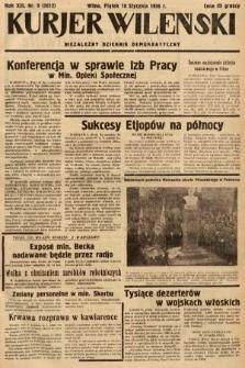 Kurjer Wileński : niezależny dziennik demokratyczny. 1936, nr9