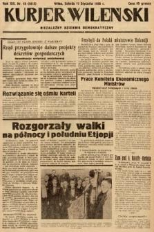 Kurjer Wileński : niezależny dziennik demokratyczny. 1936, nr10
