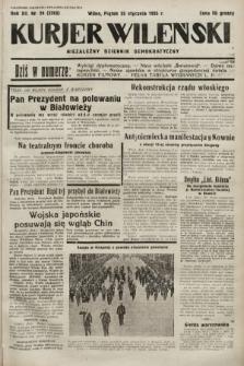 Kurjer Wileński : niezależny dziennik demokratyczny. 1935, nr24