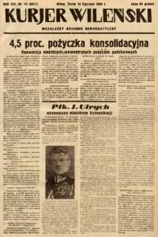 Kurjer Wileński : niezależny dziennik demokratyczny. 1936, nr14