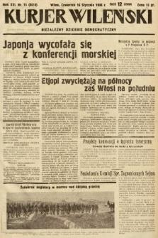 Kurjer Wileński : niezależny dziennik demokratyczny. 1936, nr15