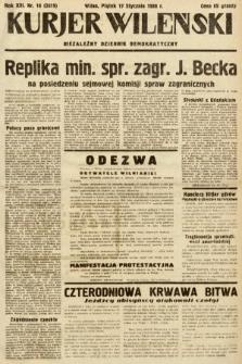 Kurjer Wileński : niezależny dziennik demokratyczny. 1936, nr16