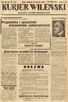 Kurjer Wileński : niezależny dziennik demokratyczny. 1936, nr18