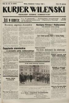 Kurjer Wileński : niezależny dziennik demokratyczny. 1935, nr33