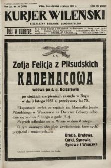 Kurjer Wileński : niezależny dziennik demokratyczny. 1935, nr34