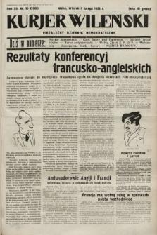 Kurjer Wileński : niezależny dziennik demokratyczny. 1935, nr35