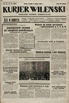 Kurjer Wileński : niezależny dziennik demokratyczny. 1935, nr38