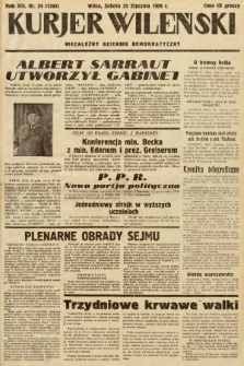 Kurjer Wileński : niezależny dziennik demokratyczny. 1936, nr24