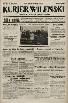 Kurjer Wileński : niezależny dziennik demokratyczny. 1935, nr39