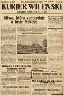 Kurjer Wileński : niezależny dziennik demokratyczny. 1936, nr25
