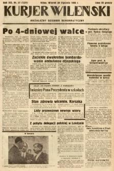 Kurjer Wileński : niezależny dziennik demokratyczny. 1936, nr27