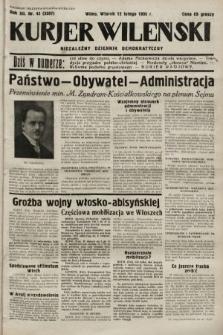 Kurjer Wileński : niezależny dziennik demokratyczny. 1935, nr42