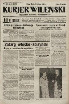Kurjer Wileński : niezależny dziennik demokratyczny. 1935, nr43