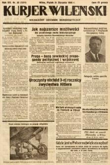 Kurjer Wileński : niezależny dziennik demokratyczny. 1936, nr30
