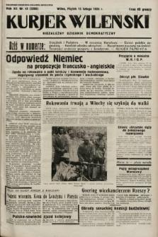 Kurjer Wileński : niezależny dziennik demokratyczny. 1935, nr45