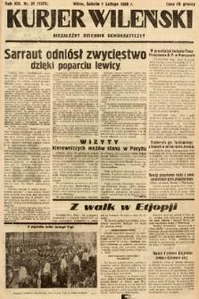 Kurjer Wileński : niezależny dziennik demokratyczny. 1936, nr31