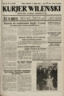 Kurjer Wileński : niezależny dziennik demokratyczny. 1935, nr47