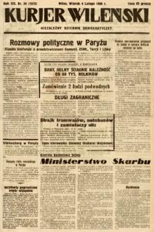 Kurjer Wileński : niezależny dziennik demokratyczny. 1936, nr34