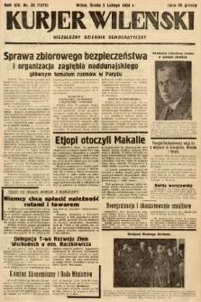 Kurjer Wileński : niezależny dziennik demokratyczny. 1936, nr35